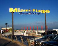 Miami Plage Casablanca- Maroc on point