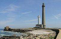 Der Leuchtturm der Île Vierges
