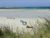 Kite-Surfer-Paradies