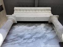 Foto 10, Columnas del templo del  Centro Arqueológico de l'Almoina de Valencia