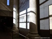 Foto 9, Columnas del templo del  Centro Arqueológico de l'Almoina de Valencia.