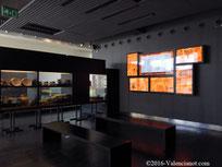 Sala de información audiovisual de l'Almonia.