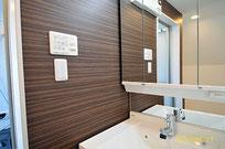 川崎区 オーダー住宅 バイクガレージ 3階のサニタリー