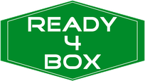 Ready4Box Logo im Umweltfreundlichen Grün