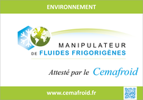 Certification Cemafroid