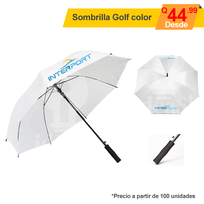 Sombrilla full color tipo Golf