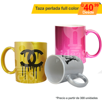 Taza full color Perlada