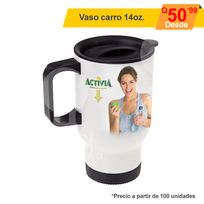 Vaso full color para carro