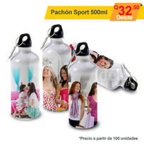 Pachón sport 500ml full color