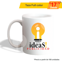 Taza Full color