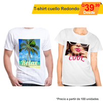 Playera full color cuello O