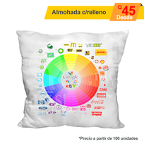 Almohada full color