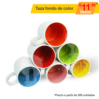 Taza fondo de Color