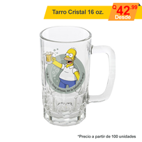 Tarro Full color Cristal