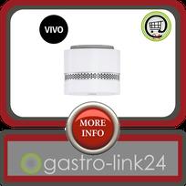 Vivo weiß - Nano Rauchmelder - CE - Autonomie 10 Jahre