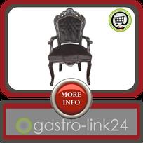 Barock Stuhl schwarz