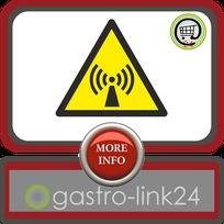 "Aufkleber ASR-A1-3 (DIN EN ISO 7010) ""Warnung vor nicht ionisierender Strahlung"