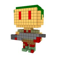 Moxel - Voxel - Doom - Zombieman