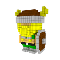 Moxel - Voxel - Olaf the Stout