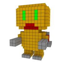 Moxel - Voxel - Doom - Mancubus