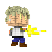 Moxel - Voxel - One Punch Man - Genos