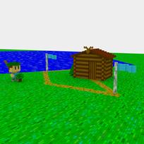 Moxel - Voxel - Settlers - Forest Ranger