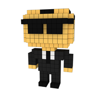 Moxel - Voxel - Agent Smith