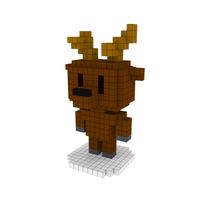Moxel - Voxel - Rentier - Reindeer