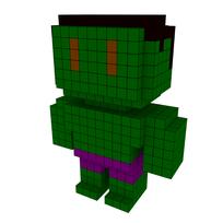 Moxel - Voxel - Hulk