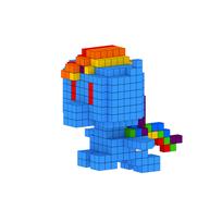 Moxel - Voxel - Rainbow Dash