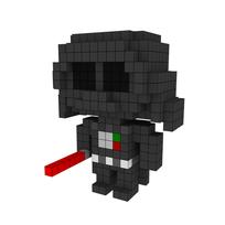 Moxel - Voxel - Darth Vader