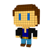 Moxel - Voxel - Michael Knight