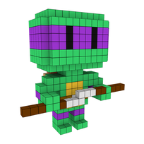 Moxel - Voxel - Donatello