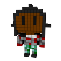 Moxel - Voxel - Invisible Boy