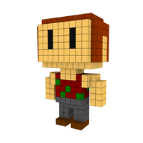 Moxel - Voxel - One Punch Man - Tanktop Vegetarian