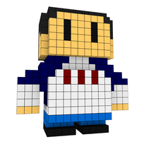 Moxel - Voxel - One Punch Man - Pig God