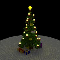 Moxel - Voxel - Weihnachtbaum - Christmastree