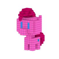 Moxel - Voxel - Pinkie Pie