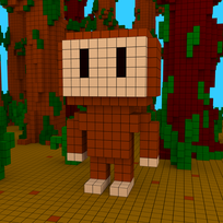 Moxel - Voxel - Sasquatch - Bigfoot