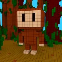Moxel - Voxel - Sasquatch - Bigfoot