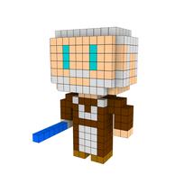 Moxel - Voxel - Obi-Wan Kenobi