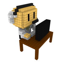 Moxel - Voxel - One Punch Man - Bofoi