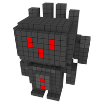 Moxel - Voxel - One Punch Man - Metal Knight
