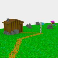 Moxel - Voxel - Settlers - Quarryman