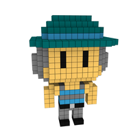 Moxel - Voxel - One Punch Man - Tanktop Hatter