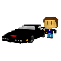 Moxel - Voxel - Knight Rider