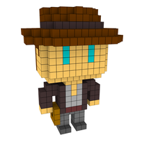Moxel - Voxel - Indiana Jones