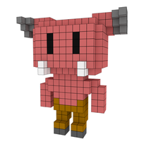 Moxel - Voxel - Doom - Baron of Hell