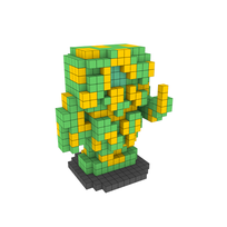 Moxel - Voxel - Silicoids - Soldier