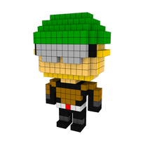 Moxel - Voxel - One Punch Man - Mumen Rider